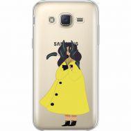 Силиконовый чехол BoxFace Samsung J500H Galaxy J5 Just a Girl (35058-cc60)