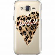 Силиконовый чехол BoxFace Samsung J500H Galaxy J5 Wild Love (35058-cc64)
