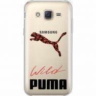 Силиконовый чехол BoxFace Samsung J500H Galaxy J5 Wild Cat (35058-cc66)