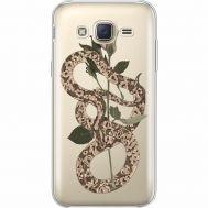 Силиконовый чехол BoxFace Samsung J500H Galaxy J5 Glamor Snake (35058-cc67)