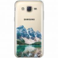 Силиконовый чехол BoxFace Samsung J500H Galaxy J5 Blue Mountain (35058-cc68)