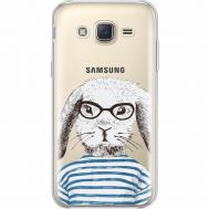 Силиконовый чехол BoxFace Samsung J500H Galaxy J5 MR. Rabbit (35058-cc71)