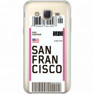 Силиконовый чехол BoxFace Samsung J500H Galaxy J5 Ticket San Francisco (35058-cc79)