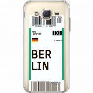 Силиконовый чехол BoxFace Samsung J500H Galaxy J5 Ticket Berrlin (35058-cc80)
