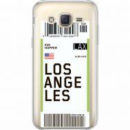 Силиконовый чехол BoxFace Samsung J500H Galaxy J5 Ticket Los Angeles (35058-cc85)