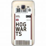 Силиконовый чехол BoxFace Samsung J500H Galaxy J5 Ticket Hogwarts (35058-cc91)