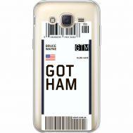 Силиконовый чехол BoxFace Samsung J500H Galaxy J5 Ticket Gotham (35058-cc92)