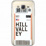 Силиконовый чехол BoxFace Samsung J500H Galaxy J5 Ticket Hill Valley (35058-cc94)