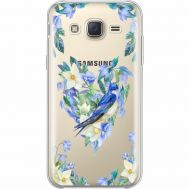 Силиконовый чехол BoxFace Samsung J500H Galaxy J5 Spring Bird (35058-cc96)