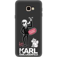 Силиконовый чехол BoxFace Samsung J415 Galaxy J4 Plus 2018 For Karl (35598-bk38)