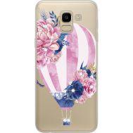 Силиконовый чехол BoxFace Samsung J600 Galaxy J6 2018 Pink Air Baloon (934979-rs6)