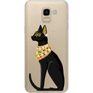 Силиконовый чехол BoxFace Samsung J600 Galaxy J6 2018 Egipet Cat (934979-rs8)