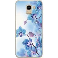 Силиконовый чехол BoxFace Samsung J600 Galaxy J6 2018 Orchids (934979-rs16)
