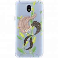 Силиконовый чехол BoxFace Samsung J530 Galaxy J5 2017 Cute Mermaid (35019-cc62)