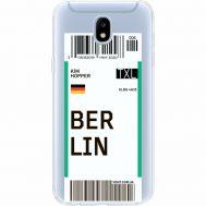 Силиконовый чехол BoxFace Samsung J530 Galaxy J5 2017 Ticket Berrlin (35019-cc80)