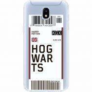 Силиконовый чехол BoxFace Samsung J530 Galaxy J5 2017 Ticket Hogwarts (35019-cc91)