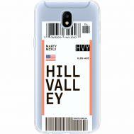 Силиконовый чехол BoxFace Samsung J530 Galaxy J5 2017 Ticket Hill Valley (35019-cc94)