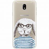 Силиконовый чехол BoxFace Samsung J730 Galaxy J7 2017 MR. Rabbit (35020-cc71)