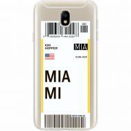 Силиконовый чехол BoxFace Samsung J730 Galaxy J7 2017 Ticket Miami (35020-cc81)