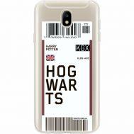 Силиконовый чехол BoxFace Samsung J730 Galaxy J7 2017 Ticket Hogwarts (35020-cc91)