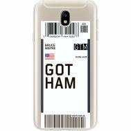Силиконовый чехол BoxFace Samsung J730 Galaxy J7 2017 Ticket Gotham (35020-cc92)