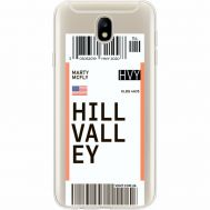 Силиконовый чехол BoxFace Samsung J730 Galaxy J7 2017 Ticket Hill Valley (35020-cc94)