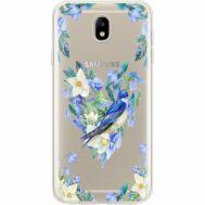 Силиконовый чехол BoxFace Samsung J730 Galaxy J7 2017 Spring Bird (35020-cc96)