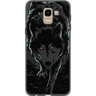 Силиконовый чехол BoxFace Samsung J600 Galaxy J6 2018 Wolf (34774-bk62)