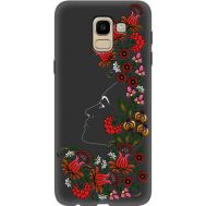 Силиконовый чехол BoxFace Samsung J600 Galaxy J6 2018 3D Ukrainian Muse (34774-bk64)