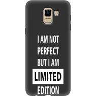 Силиконовый чехол BoxFace Samsung J600 Galaxy J6 2018 limited edition (34774-bk73)