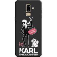 Силиконовый чехол BoxFace Samsung J810 Galaxy J8 2018 For Karl (36143-bk38)