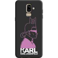 Силиконовый чехол BoxFace Samsung J810 Galaxy J8 2018 Pink Karl (36143-bk40)