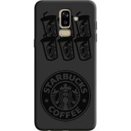 Силиконовый чехол BoxFace Samsung J810 Galaxy J8 2018 Black Coffee (36143-bk41)
