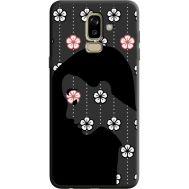 Силиконовый чехол BoxFace Samsung J810 Galaxy J8 2018 Flower Hair (36143-bk51)