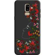 Силиконовый чехол BoxFace Samsung J810 Galaxy J8 2018 3D Ukrainian Muse (36143-bk64)