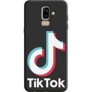Силиконовый чехол BoxFace Samsung J810 Galaxy J8 2018 tik tok (36143-bk67)