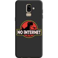 Силиконовый чехол BoxFace Samsung J810 Galaxy J8 2018 no internet (36143-bk69)