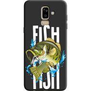 Силиконовый чехол BoxFace Samsung J810 Galaxy J8 2018 fish (36143-bk71)