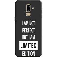 Силиконовый чехол BoxFace Samsung J810 Galaxy J8 2018 limited edition (36143-bk73)