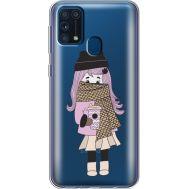 Силиконовый чехол BoxFace Samsung M315 Galaxy M31 Winter Morning Girl (39092-cc61)