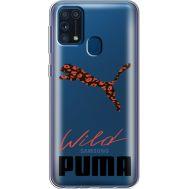 Силиконовый чехол BoxFace Samsung M315 Galaxy M31 Wild Cat (39092-cc66)