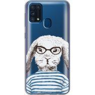 Силиконовый чехол BoxFace Samsung M315 Galaxy M31 MR. Rabbit (39092-cc71)