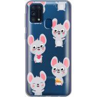 Силиконовый чехол BoxFace Samsung M315 Galaxy M31 с 3D-глазками Mouse (39092-cc76)