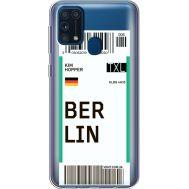 Силиконовый чехол BoxFace Samsung M315 Galaxy M31 Ticket Berrlin (39092-cc80)