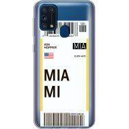Силиконовый чехол BoxFace Samsung M315 Galaxy M31 Ticket Miami (39092-cc81)