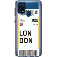 Силиконовый чехол BoxFace Samsung M315 Galaxy M31 Ticket London (39092-cc83)