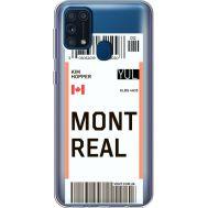 Силиконовый чехол BoxFace Samsung M315 Galaxy M31 Ticket Monreal (39092-cc87)