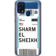 Силиконовый чехол BoxFace Samsung M315 Galaxy M31 Ticket Sharmel Sheikh (39092-cc90)