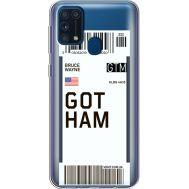 Силиконовый чехол BoxFace Samsung M315 Galaxy M31 Ticket Gotham (39092-cc92)