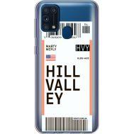 Силиконовый чехол BoxFace Samsung M315 Galaxy M31 Ticket Hill Valley (39092-cc94)